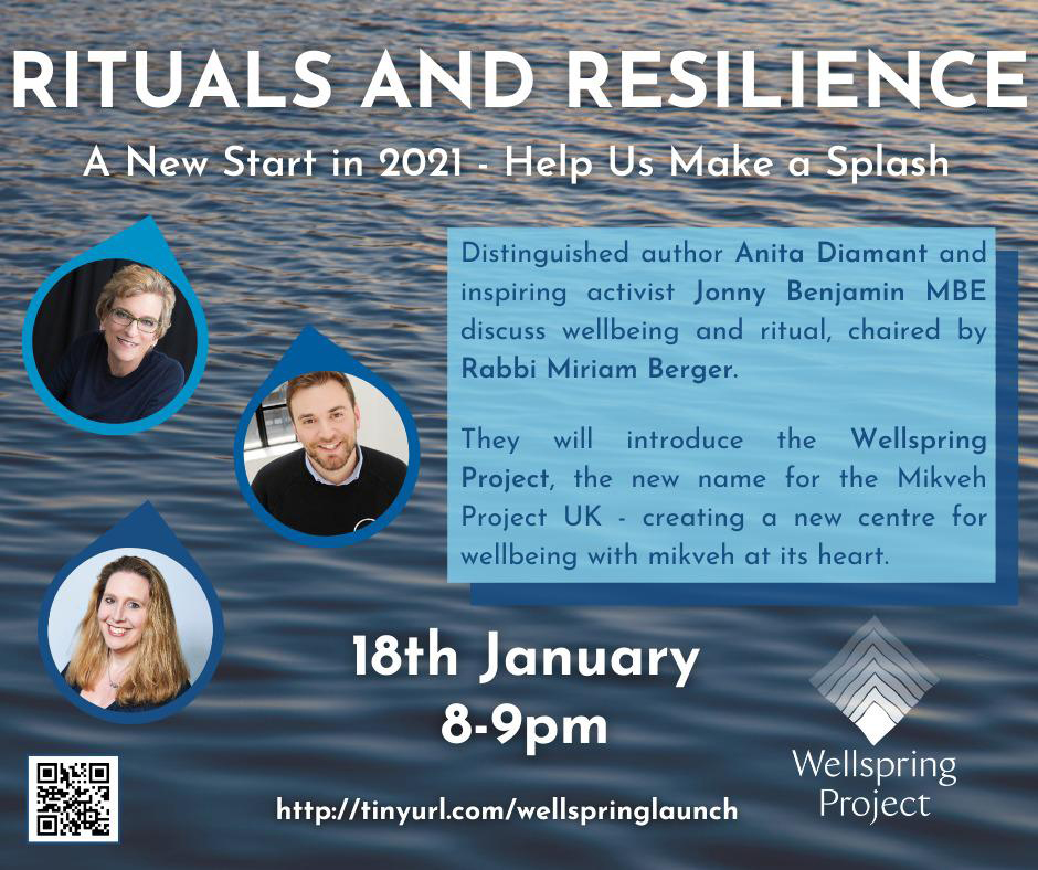 Rituals & Resilience 18th January 8 - 9pm