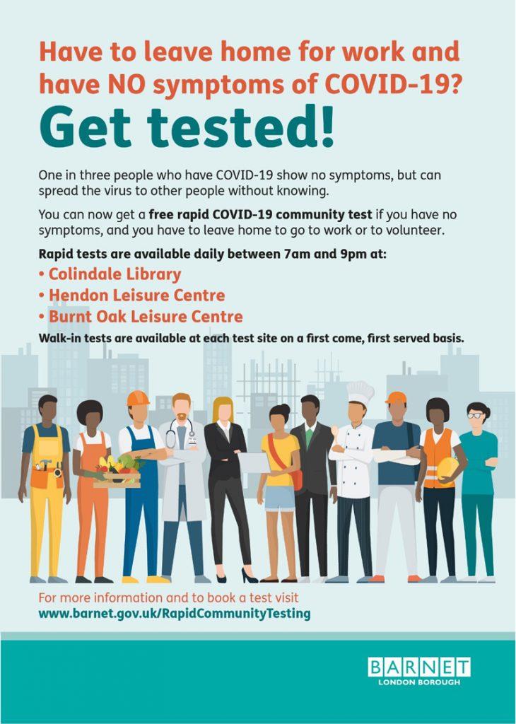 Get Tested - Barnet