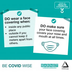 Do wear a face covering