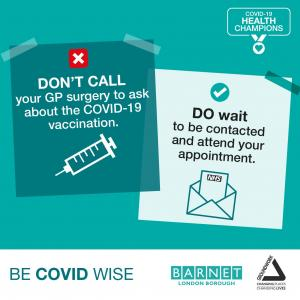 Don't Call your GP Surgery